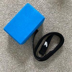 Yoga Strap & Block